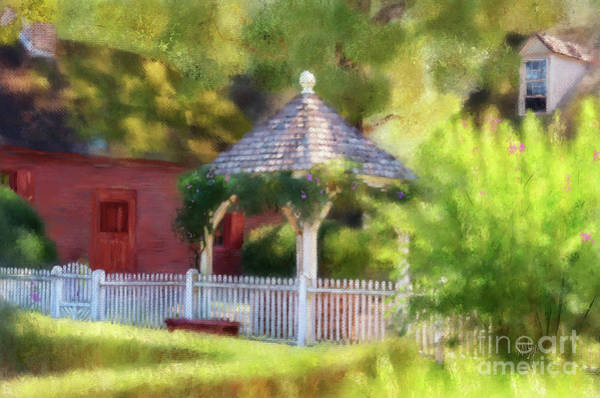 Wall Art - Digital Art - A Wishing Well At Williamsburg by Lois Bryan
