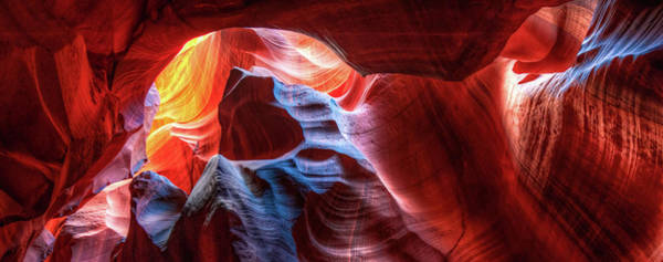 Photograph - A World Within Antelope Canyon by Gregory Ballos