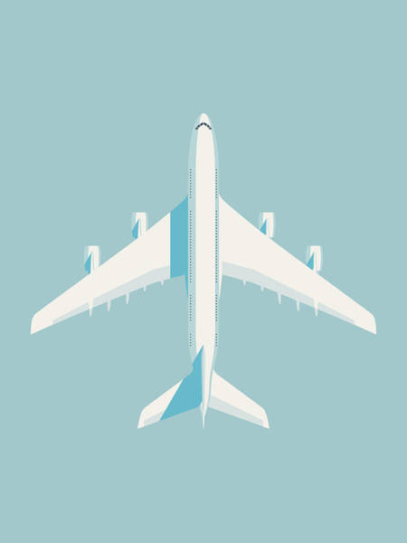 Wall Art - Digital Art - A380 Super Jumbo Jet Airliner - Sky by Ivan Krpan