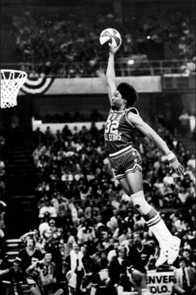 Uniform Photograph - Aba All-star Challenge by Nba Photos