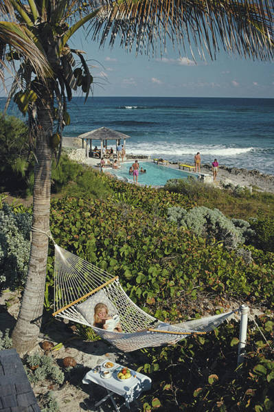 Coastline Photograph - Abaco Holiday by Slim Aarons