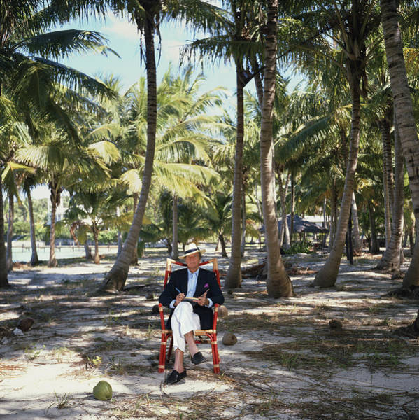 Hat Photograph - Abaco Islander by Slim Aarons