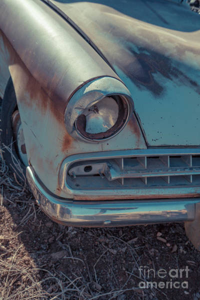 Photograph - Abandond Old Car Gold King Mine Arizona by Edward Fielding