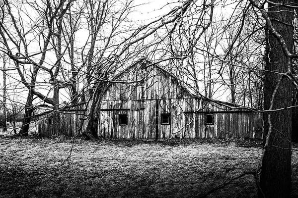 Photograph - Abandoned Barn Highway 6 V1 by Michael Arend