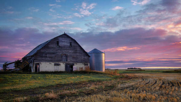 Photograph - Abandoned Barn In Manitoba  by Harriet Feagin