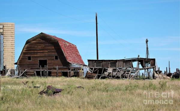 Photograph - Abandoned Barn by Tammie J Jordan