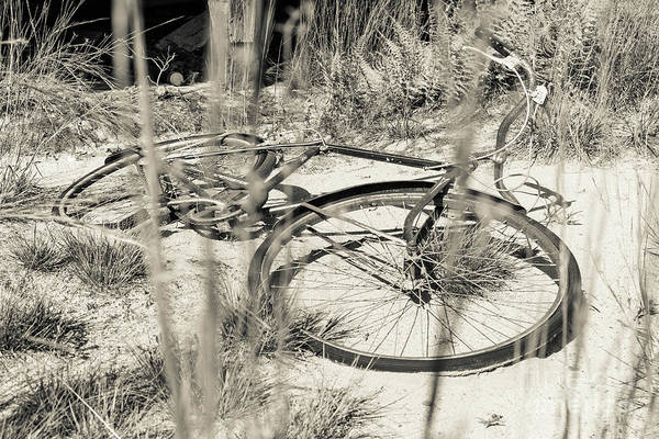 Wall Art - Photograph - Abandoned Bike by Edward Fielding