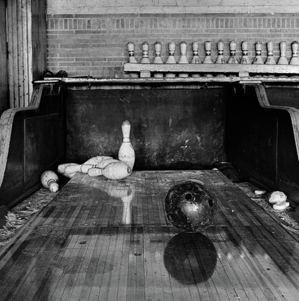 Ball Photograph - Abandoned Bowling Alley by Scott Goetz Photography