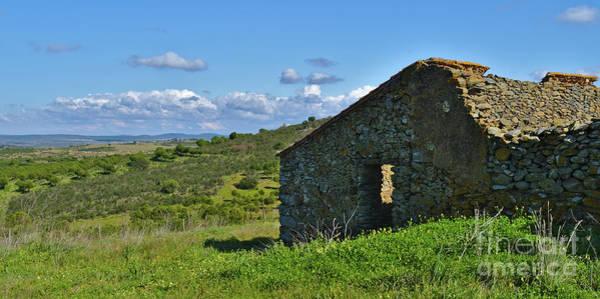 Abandoned Cottage In Alentejo Art Print