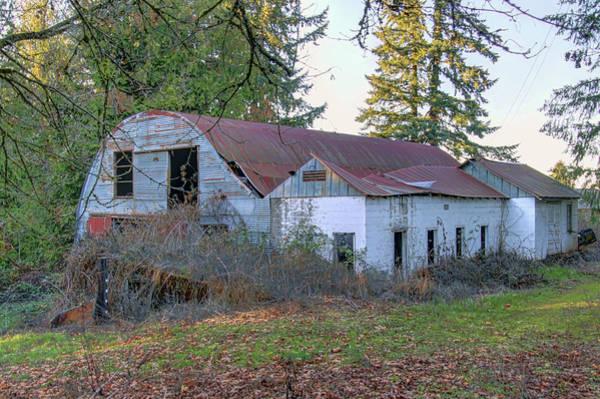 Camera Raw Photograph - Abandoned Diary Barn  by Brenton Cooper