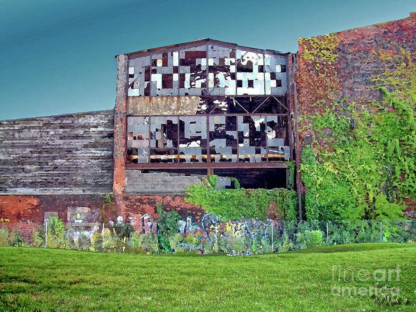 An Abandoned Factory In Detroit Art Print