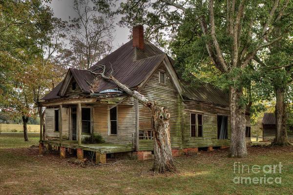Wall Art - Photograph - Abandoned Farm House by Rick Mann