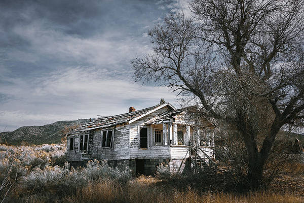 Photograph - Abandoned Farmhouse In Golden, New Mexico by Robert FERD Frank