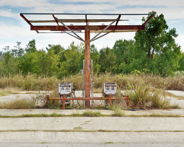Louisiana Photograph - Abandoned Gas Station Pumps by Joel Brouwer