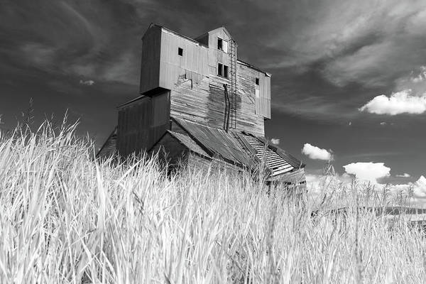 Photograph - Abandoned Grain Elevator In The Palouse by Rick Berk
