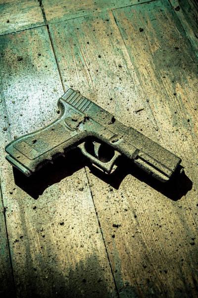 Wall Art - Photograph - Abandoned Gun No.2 by Richard Nixon