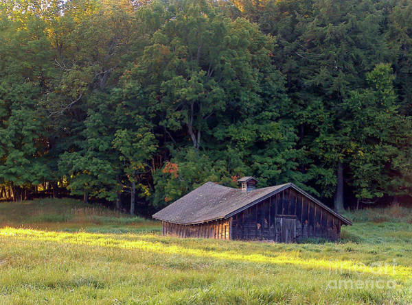 Photograph - Abandoned Hay Barn At Sunrise by Kevin McCarthy