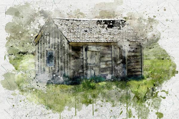 Photograph - Abandoned House by Mark Jackson