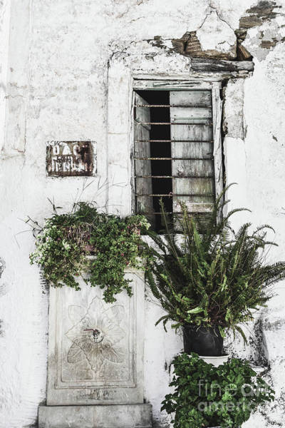 Broken Windows Photograph - Abandoned House by PrintsProject