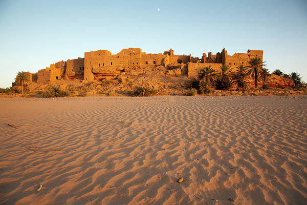 Casbah Photograph - Abandoned Kasbah Of Sahli At Sunset by © Santiago Urquijo