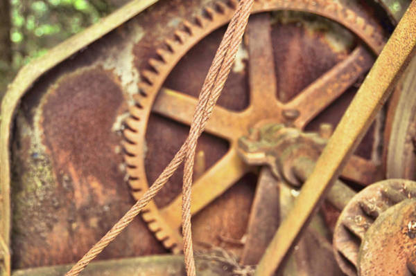 Photograph - Abandoned Machinery by JAMART Photography