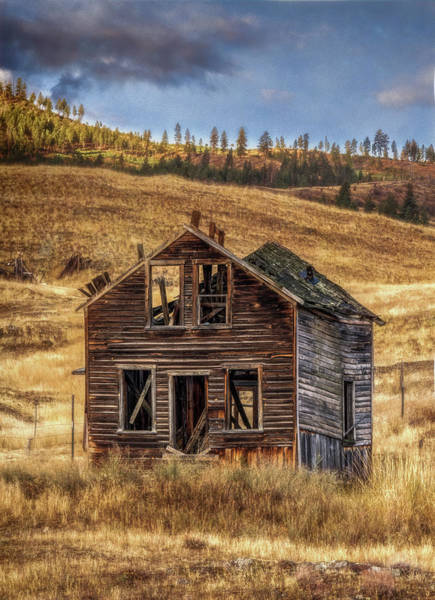 Photograph - Abandoned Montana #2 by David Heilman