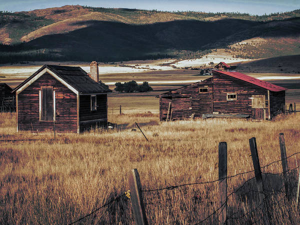 Photograph - Abandoned Montana #3 by David Heilman