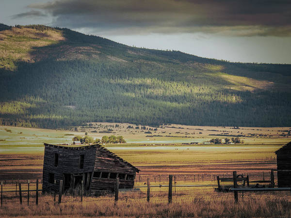 Photograph - Abandoned Montana #5 by David Heilman