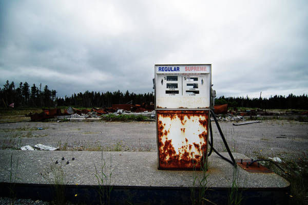 Energy Crisis Photograph - Abandoned Oil Station by Mmac72