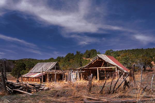 Photograph - Abandoned Ranch by Robert FERD Frank
