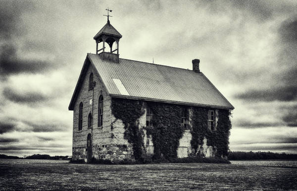 Photograph - Abandoned Schoolhouse by Garvin Hunter