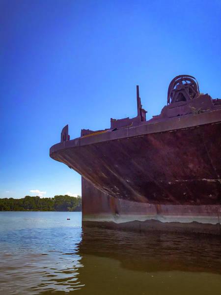 Photograph - Abandoned Ship by Lora J Wilson