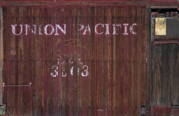 Wall Art - Photograph - Abandoned Up Caboose by Steve Gadomski