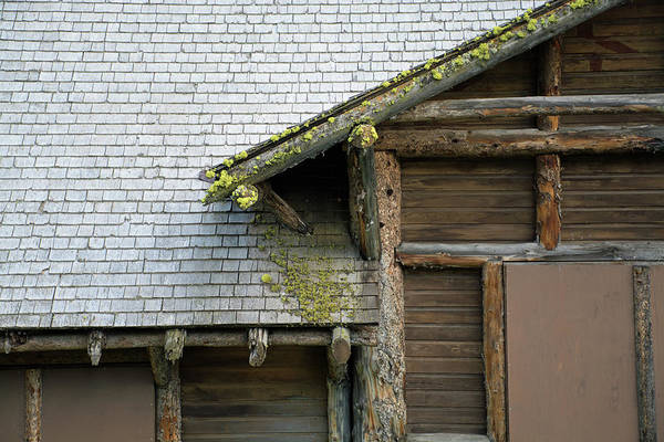 Photograph - Abandoned Yellowstone Lake Marina Building  by Bruce Gourley
