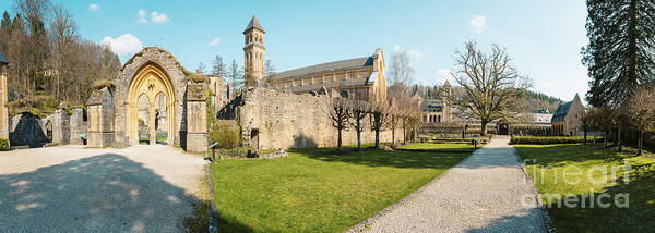 Wall Art - Photograph - Abbaye Notre-dame D'orval by JR Photography