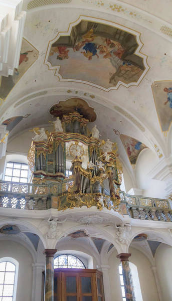 Wall Art - Photograph - Abbey Of Saint Peter Main Organ by Teresa Mucha