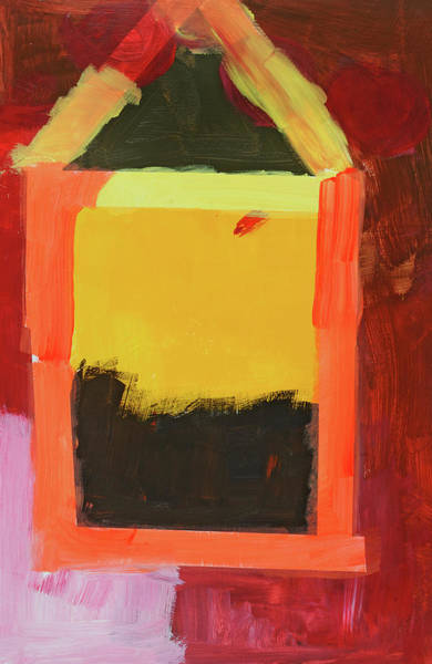 Wall Art - Painting - Abby's Dog House by Yasmine Iskander