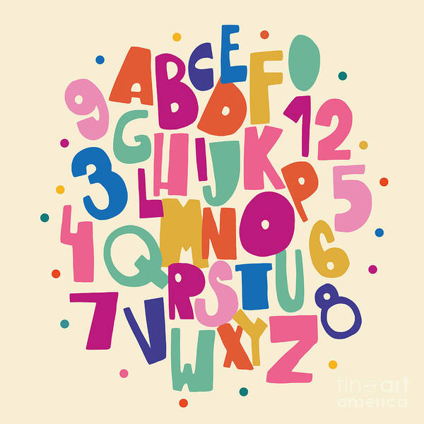 Abc For Kids Art Print