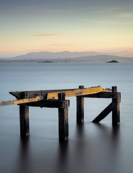 Wall Art - Photograph - Aberdour Pier by Dave Bowman