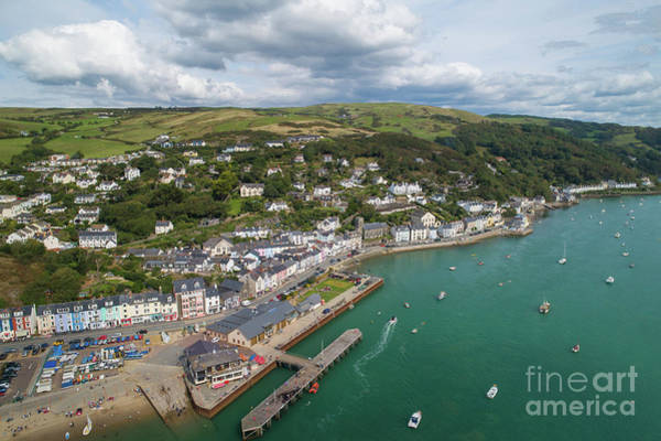 Photograph - Aberdyfi From The Air by Keith Morris