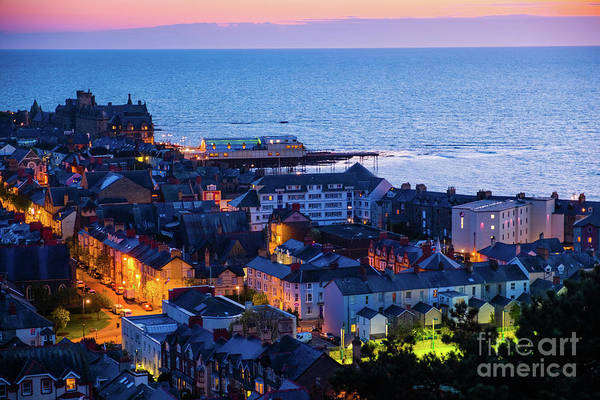 Photograph - Aberystwyth At Night by Keith Morris