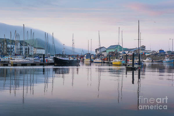 Photograph - Aberystwyth Harbour In The Eatly Morning by Keith Morris