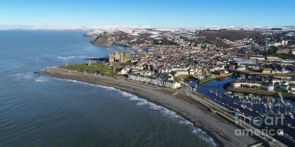 Photograph - Aberystwyth In Winter by Keith Morris