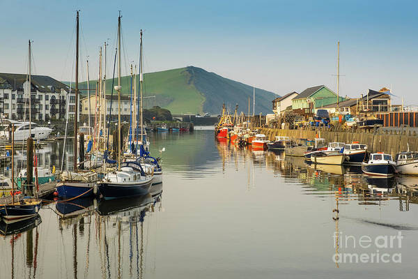 Photograph - Aberystwyth Marina At Daybreak by Keith Morris
