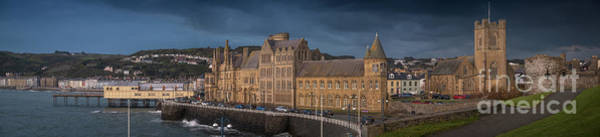 Photograph - Aberystwyth Seafront Panorama by Keith Morris