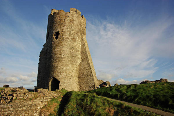 Photograph -  Aberystwyth. The Castle Gatehouse. by Lachlan Main