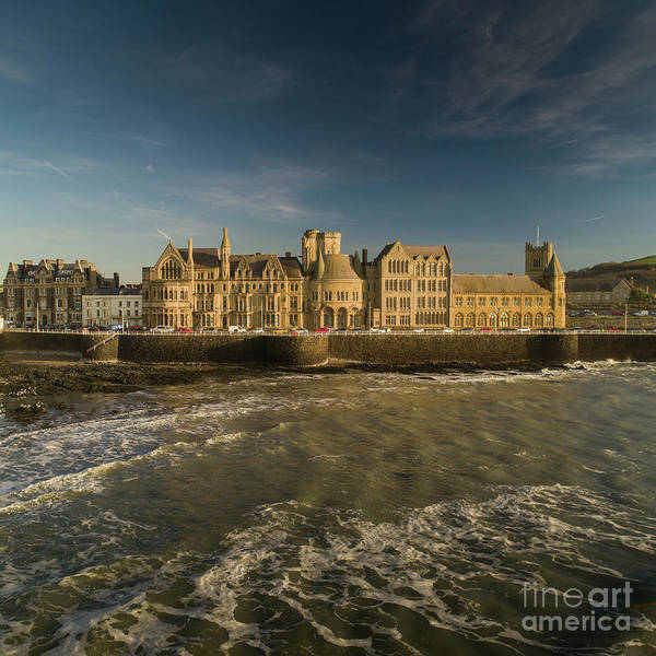 Photograph - Aberystwyth University Old College Building by Keith Morris
