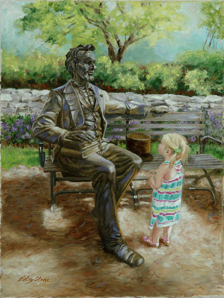 Painting - Abe's Legacy by Alice Betsy Stone