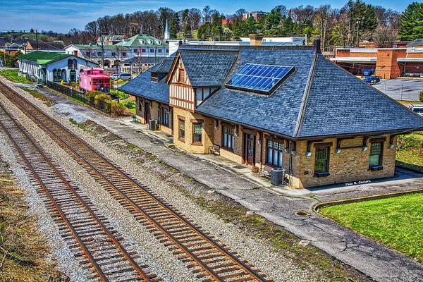 Photograph - Abingdon Train Depots by Dale R Carlson