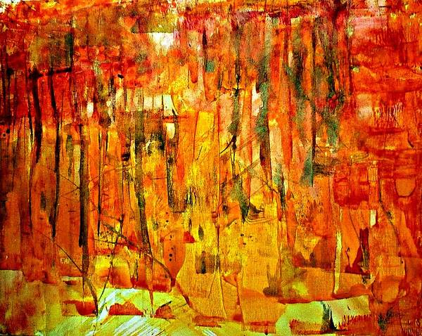 Painting - Ablaze by 'REA' Gallery